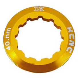 KCNC Shimano Cassette Lockring 10/11/12-speed 12T, gold
